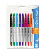 Paper Mate Flair Ultra Fine Stick Porous Point Pens, Assorted, 8-Pack