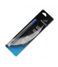Parker Refill for Fine Roller Ball Pen, Blue Ink