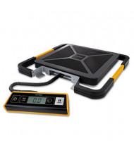 "Pelouze Dymo S400 400 lb. Digital USB Shipping Scale, 12"" W x 12"" D Platform"