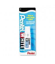 Pentel Permanent Marker, Broad Tip, White