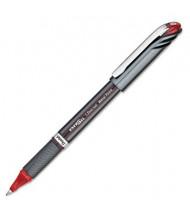 Pentel EnerGel NV 1 mm Bold Stick Roller Ball Pen, Red