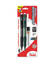 Pentel Twist-Erase Express #2 0.5 mm Assorted Colors Mechanical Pencil Starter Set