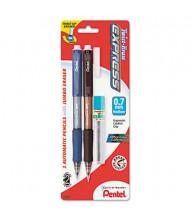 Pentel Twist-Erase Express #2 0.7 mm Assorted Colors Mechanical Pencil Starter Set