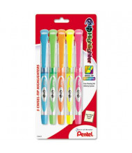 Paper Mate 24/7 Chisel Tip Highlighter, Assorted, 5-Pack