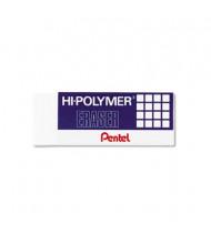 Pentel Hi-Polymer Block Eraser, 3-Pack