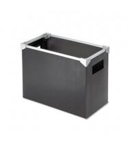 Pendaflex Letter Size Poly Desktop File Box, Black