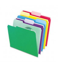 Pendaflex 1/3 Cut Tab Letter File Folder w/ InfoPocket, Assorted, 30-Pack