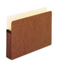 """Pendaflex Letter 5-1/4"""" Expansion File Folder Pocket, Red, 10/Box"""