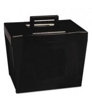 "Pendaflex 10-1/4"" D Letter Portable File Storage Box, Black"