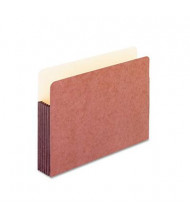 "Pendaflex Legal 5-1/4"" Expansion Straight Tab Watershed Folder, Redrope"