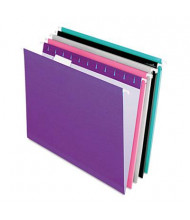 Pendaflex Letter Reinforced Hanging File Folders, Assorted Colors, 25/Box