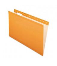 Pendaflex Legal Reinforced Hanging File Folders, Orange, 25/Box