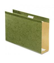 "Pendaflex Legal 3"" Box Bottom Hanging File Folders, Green, 25/Box"