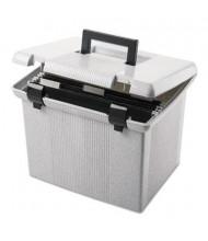 """Pendaflex 14"""" D Letter Portafile File Storage Box, Granite"""