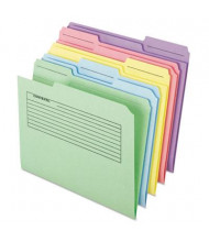 Pendaflex 1/3 Cut Tab Letter Printed Note Folder, Assorted, 30-Pack