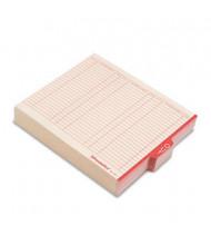 Pendaflex Letter Center Tab Out File Guides, Manila, 100/Box