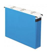 Pendaflex SureHook 9-Section Letter Hanging Folder, Blue
