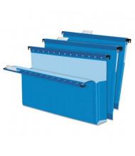 "Pendaflex SureHook Legal 2"" Expanding Box Bottom Hanging Folders, Blue, 25/Box"