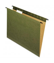 Pendaflex SureHook Letter Hanging Folders, Green, 20/Box