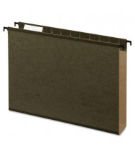 "Pendaflex SureHook Letter 2"" Expanding Box Bottom Hanging Folders, Green, 20/Box"