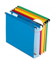 "Pendaflex SureHook Legal 2"" Expanding Box Bottom Hanging Folders, Assorted Colors, 20/Box"