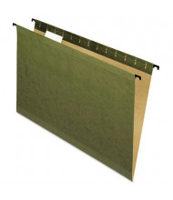 Pendaflex SureHook Legal Hanging Folders, Green, 20/Box