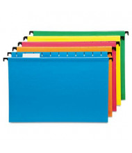 Pendaflex SureHook Legal Hanging Folders, Assorted Colors, 20/Box