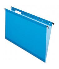 Pendaflex SureHook Legal Hanging Folders, Blue, 20/Box