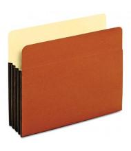 "Pendaflex Letter 3-1/2"" Expanding File Pocket, Brown, 10/Box"