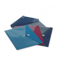 """Pendaflex 9-1/2"""" x 11"""" ViewFront Side Opening Poly Booklet Envelope, Assorted, 4/Pack"""