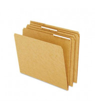 Pendaflex 1/3 Cut Plastic Tab Letter File Folder, Kraft, 50/Box