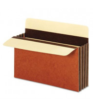 "Pendaflex Letter 3-1/2"" Expanding Wide Accordion File Pocket, Redrope, 10/Box"