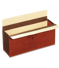 "Pendaflex Legal 5-1/4"" Expanding Accordion File Pocket, Redrope, 10/Box"