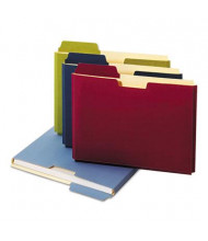 "Globe-Weis Letter 3/4"" Expanding File Folder Pocket, Assorted, 10/Box"