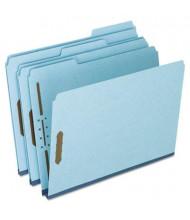 "Pendaflex Letter 2"" Expanding 1/3 Cut Tab 2-Fastener Pressboard Folder, Blue, 25/Box"