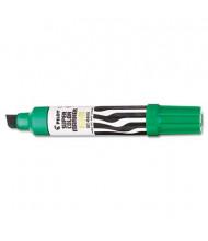 Pilot Jumbo Refillable Permanent Marker, Chisel Tip, Green