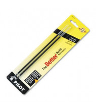 Pilot Refill for Fine Stick Ballpoint Pens, Black Ink, 2-Pack
