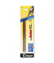 Pilot Refill for Medium Stick Ballpoint Pens, Blue Ink, 2-Pack