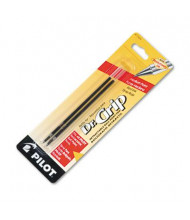 Pilot Refill for Medium Dr. Grip Ballpoint Pens, Red Ink, 2-Pack