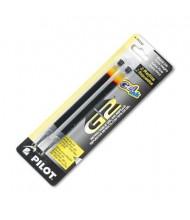 Pilot Refill for Pilot Roller Ball Gel Pens, Black Ink, 2-Pack