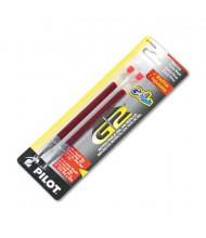 Pilot Refill for Pilot Roller Ball Gel Pens, Red Ink, 2-Pack