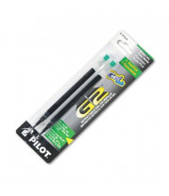 Pilot Refill for Gel Pens, Green Ink, 2-Pack