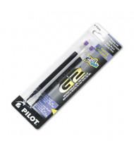 Pilot Refill for Gel Pens, Purple Ink, 2-Pack