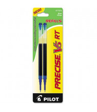 Pilot Refill for Pilot Precise V5 RT Rolling Ball, Blue Ink, 2-Pack