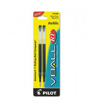 Pilot Refill for Extra Fine Pilot V Ball Rolling Ball Pens, Blue Ink, 2-Pack