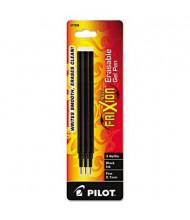 Pilot Refill for FriXion Erasable Gel Ink Pens, Black Ink, 3-Pack