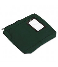 "PM Company SecurIT 14"" W x 11"" H x 3"" D Expandable Transit Sack, Dark Green"