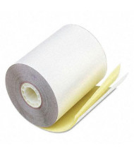 "PM Company 3-1/4"" X 80 Ft., 60-Pack, Canary, POS/Calculator Rolls"