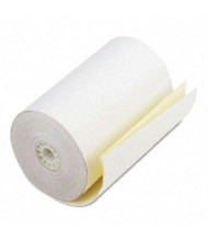 "PM Company 4-1/2"" X 90 Ft., 24-Pack, Canary, 2-Ply POS/Calculator Rolls"