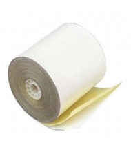 "PM Company 3"" X 90 Ft., 50-Pack, Canary, 2-Ply POS/Calculator Rolls"